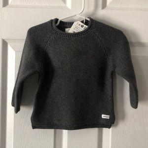 9-12m Zara knit sweater